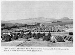 26th Gen Hospital WWII, North Africa