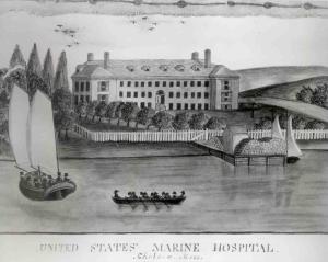 chelsea marine hospital in 1918