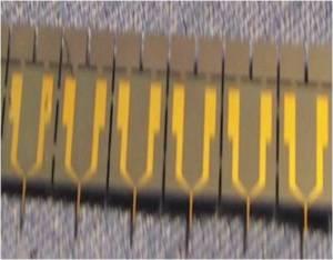 Microneedle closeup