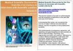 Aviva Medical-Scientific-Discoveries