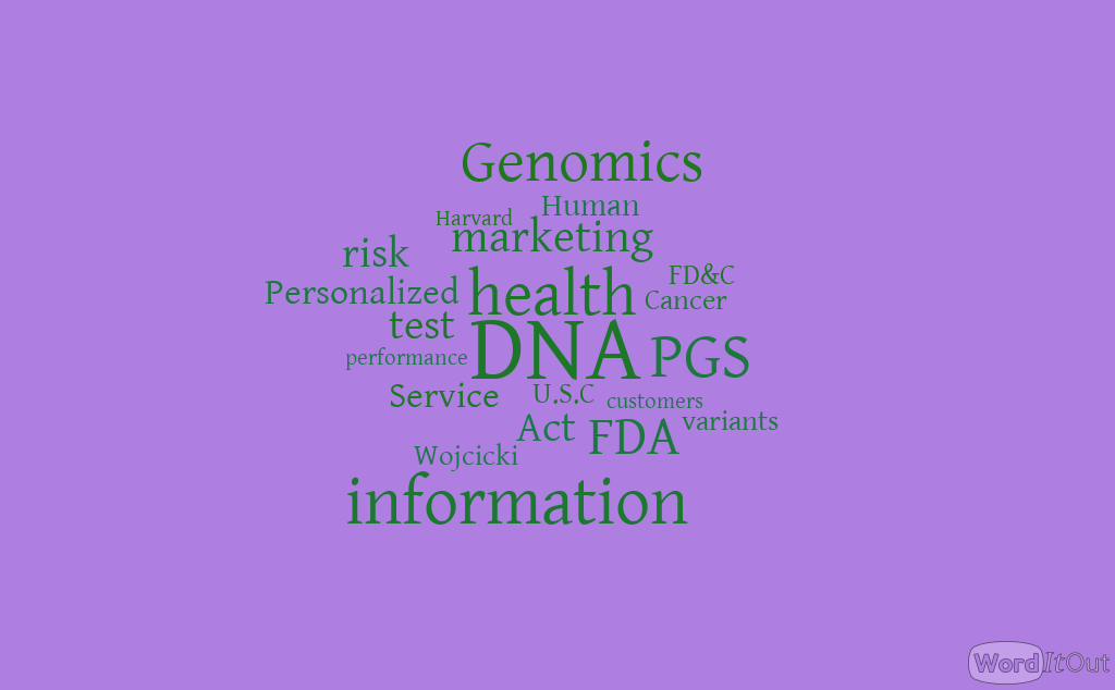 FDA Warning for the Leader of Consumer Market for Personal DNA Sequencing Part 4