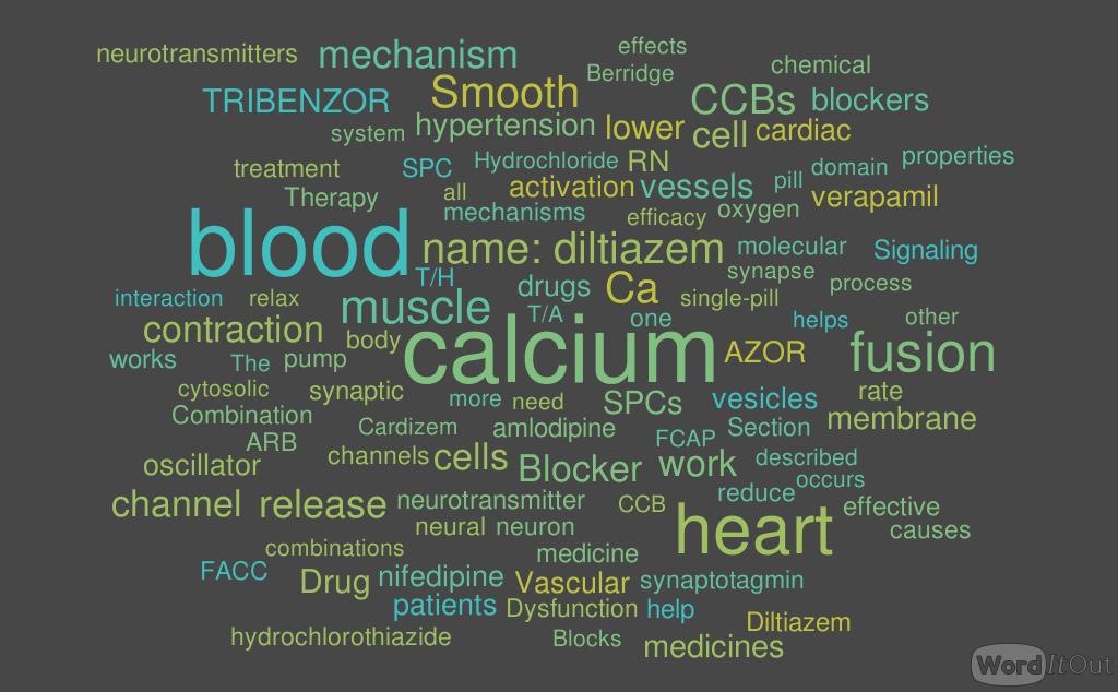 Article IX Calcium-Channel Blocker, Calcium Release-related Contractile Dysfunction (Ryanopathy) and Calcium as Neurotransmitter Sensor